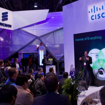 Steve Multer Cisco tech talk at CES on IoT and IoE