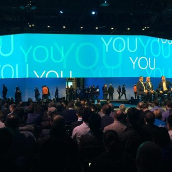 Steve Multer on stage at Cisco Live