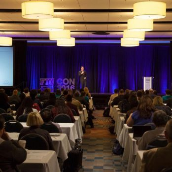 Steve Multer presenting at FIU Online Con 2018