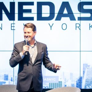 Steve Multer attending the Nedas NYC Summit