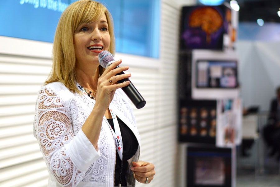 Karen Multer trade show presenter
