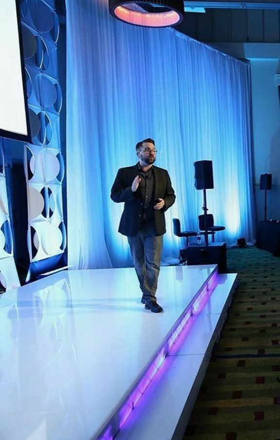 Steve Multer delivers expert event emcees
