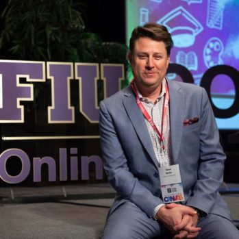 Steve Multer meeting host at FIU Online Con 2018